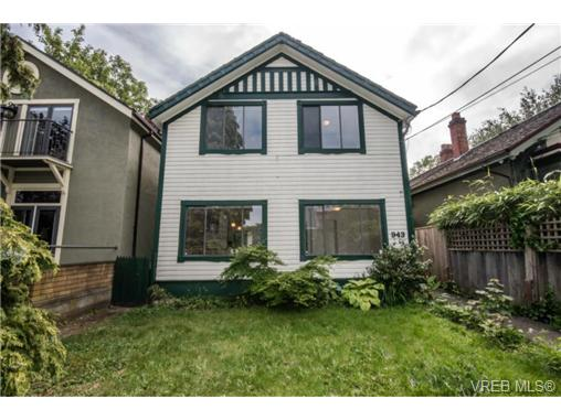 Photo 2: 943 Meares Street in VICTORIA: Vi Downtown Revenue Duplex for sale (Victoria)  : MLS(r) # 364836