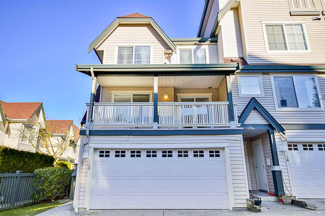 "Main Photo: 15 15355 26 Avenue in Surrey: King George Corridor Townhouse for sale in ""SOUTHWIND"" (South Surrey White Rock)  : MLS®# R2130978"