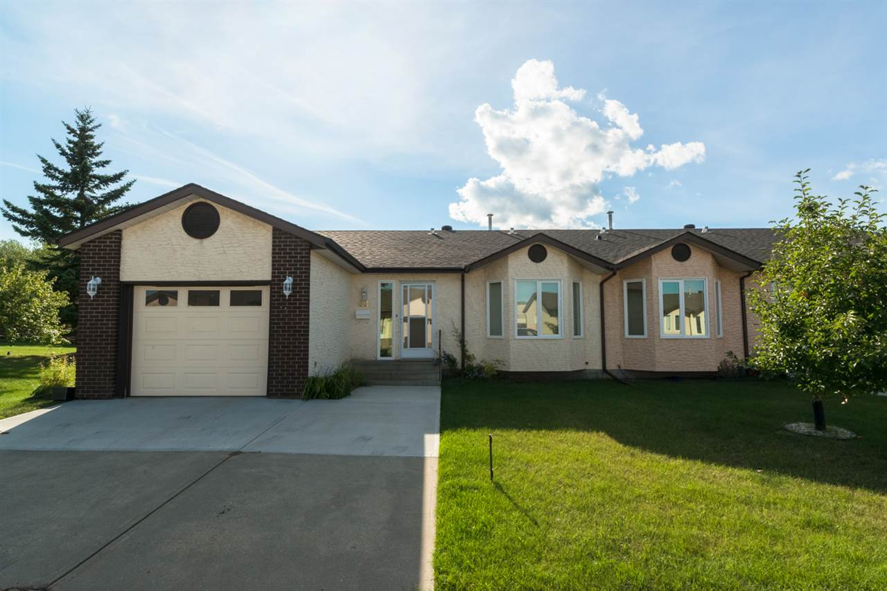 Main Photo: 62 4401 37 Street: Stony Plain House Half Duplex for sale : MLS(r) # E4051097