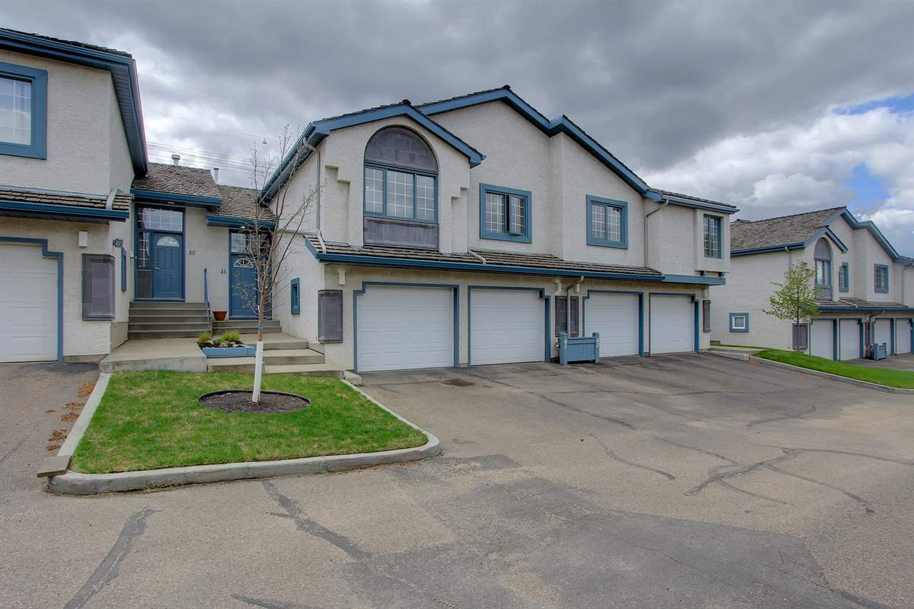 Main Photo: 41 1130 FALCONER Road in Edmonton: Zone 14 Townhouse for sale : MLS® # E4065060