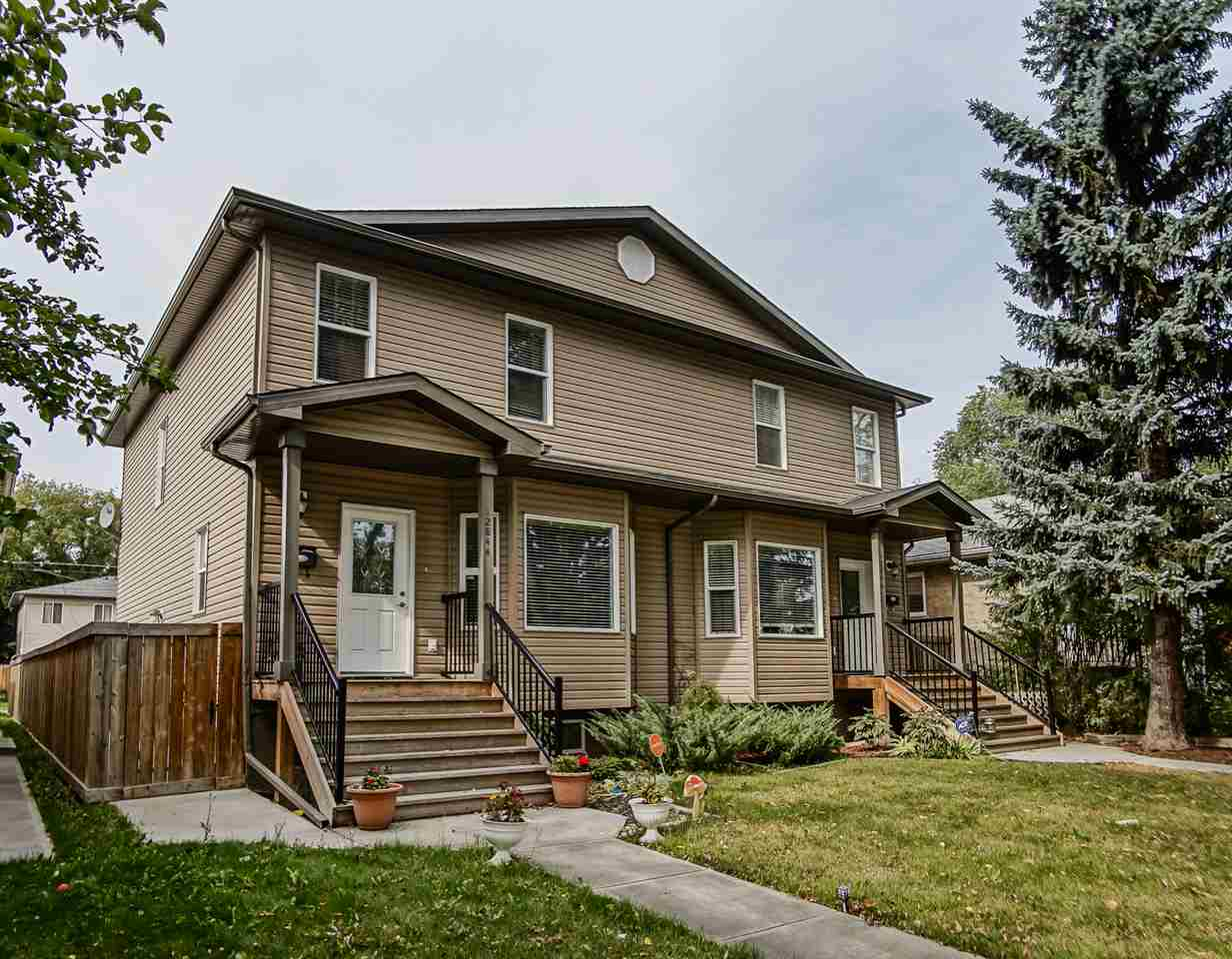 Main Photo: 12844 122 Street NW in Edmonton: Zone 01 House Half Duplex for sale : MLS® # E4082547