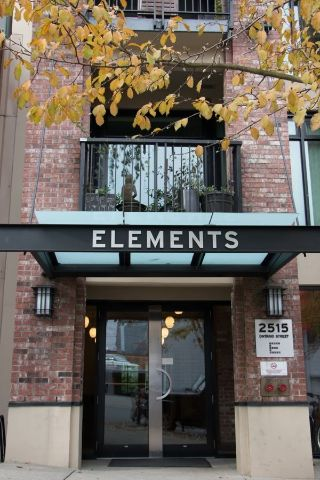 "Main Photo: 110 2515 ONTARIO Street in Vancouver: Mount Pleasant VW Condo for sale in ""ELEMENTS"" (Vancouver West)  : MLS® # R2220484"