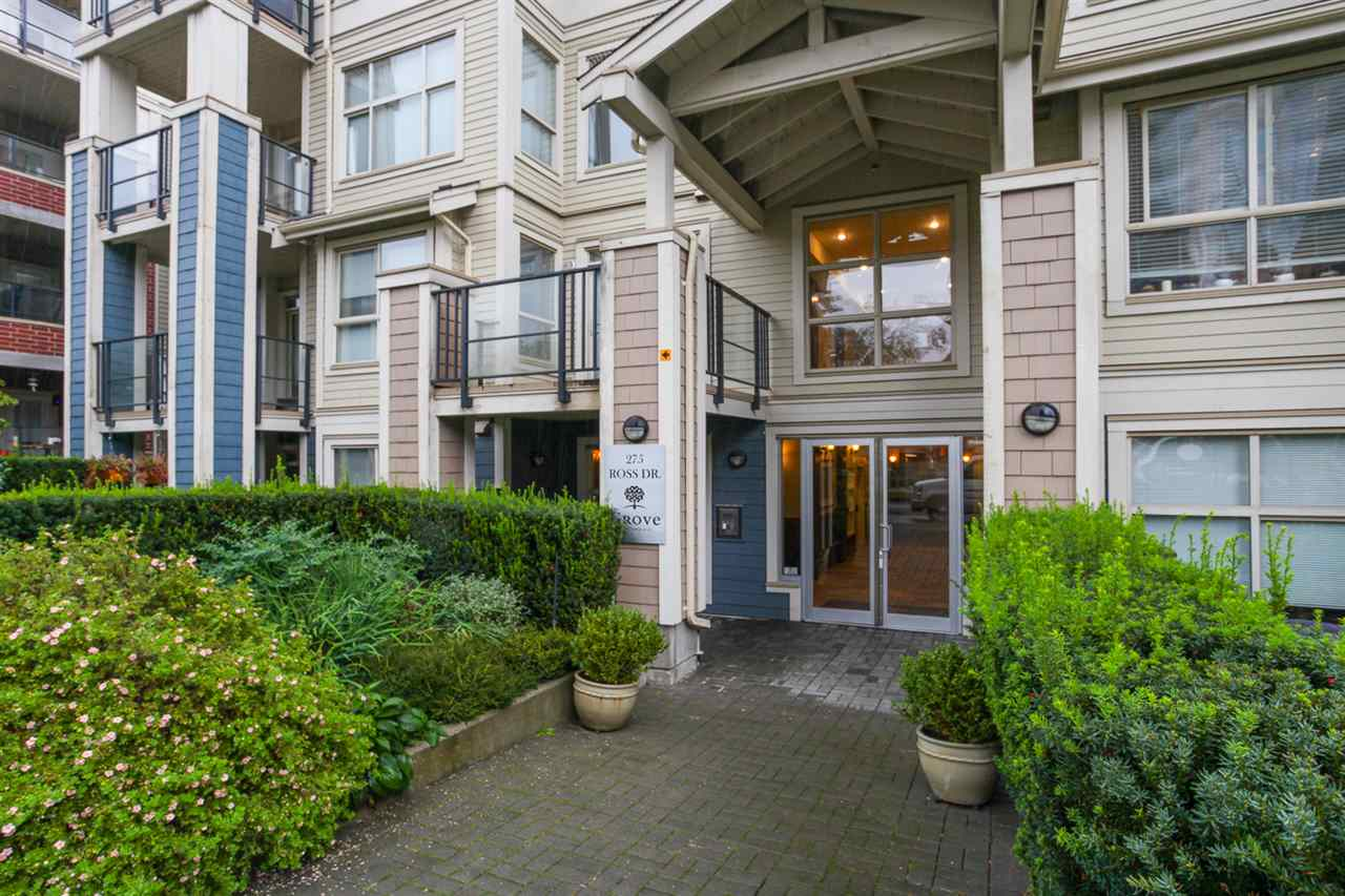 Photo 2: 204 275 ROSS Drive in New Westminster: Fraserview NW Condo for sale : MLS® # R2109644
