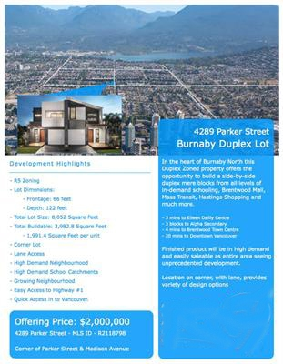 Main Photo: 4289 PARKER Street in Burnaby: Willingdon Heights House for sale (Burnaby North)  : MLS® # R2129579