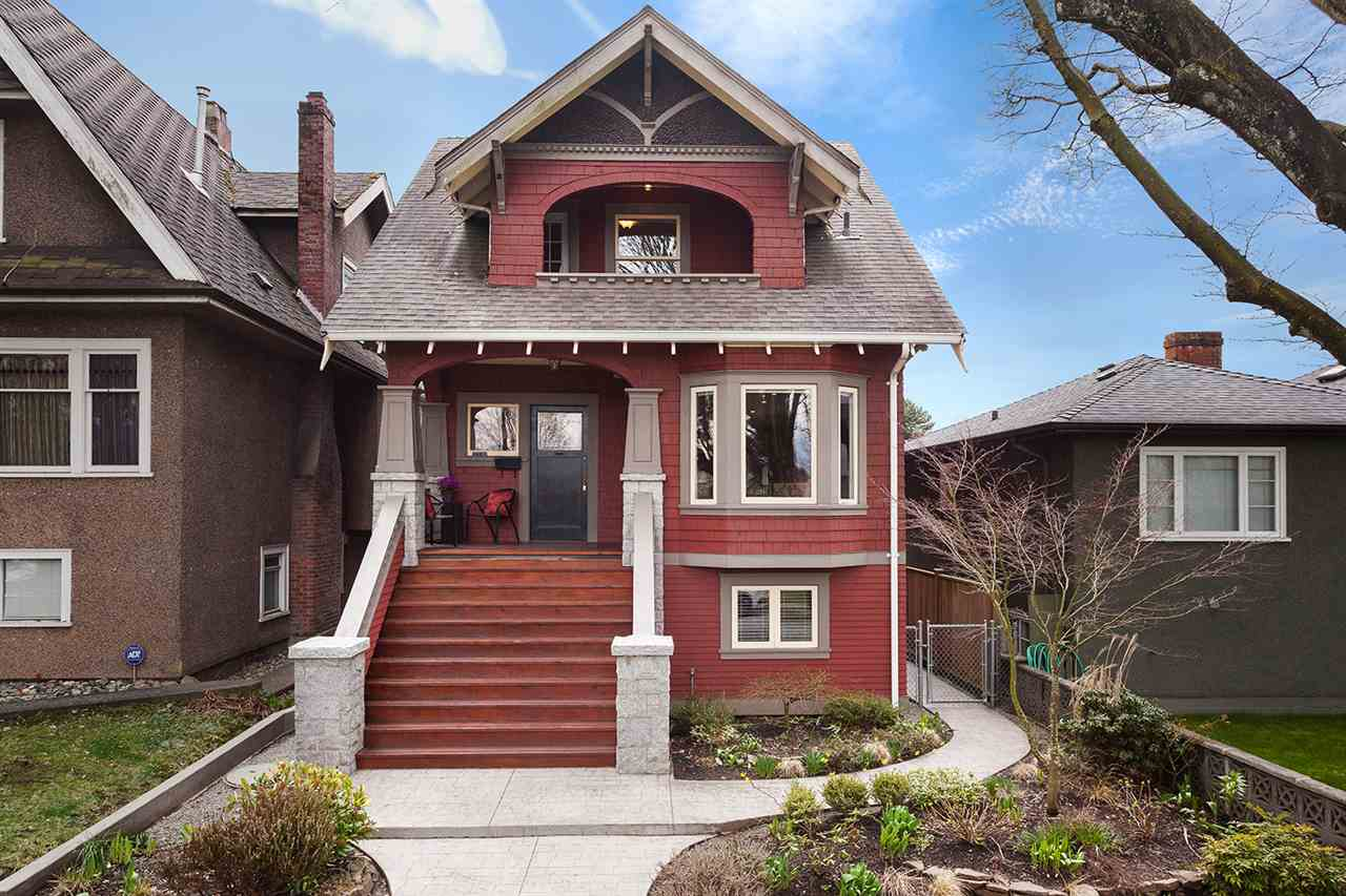 "Main Photo: 2316 GRAVELEY Street in Vancouver: Grandview VE House for sale in ""COMMERCIAL DRIVE"" (Vancouver East)  : MLS® # R2151822"