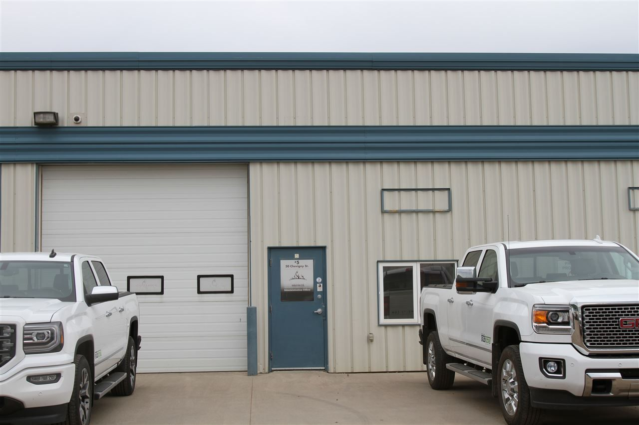 Main Photo: 5 30 Chevigny Street: St. Albert Industrial for lease : MLS® # E4072330