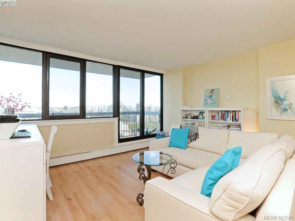 Main Photo: 1401 647 Michigan Street in VICTORIA: Vi James Bay Condo Apartment for sale (Victoria)  : MLS® # 383546