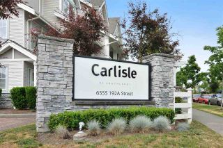 "Main Photo: 5 6555 192A Street in Surrey: Clayton Townhouse for sale in ""Carlisle"" (Cloverdale)  : MLS® # R2240824"