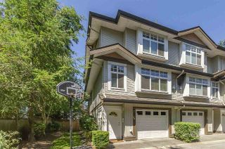 "Main Photo: 19 8155 164 Street in Surrey: Fleetwood Tynehead Townhouse for sale in ""Sequoia Ridge"" : MLS®# R2305286"