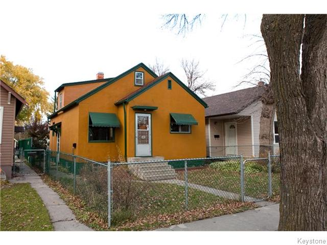 Main Photo: 443 Horace Street in WINNIPEG: St Boniface Residential for sale (South East Winnipeg)  : MLS® # 1528754