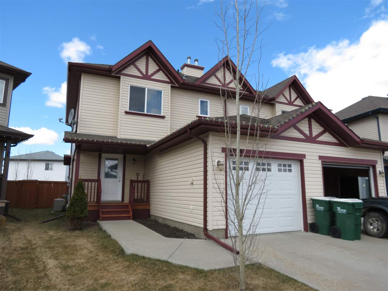 Main Photo: 9429 80 Avenue: Morinville House Half Duplex for sale : MLS(r) # E4059755