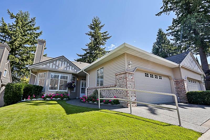 "Main Photo: 67 2533 152 Street in Surrey: Sunnyside Park Surrey Townhouse for sale in ""Bishops Green"" (South Surrey White Rock)  : MLS®# R2201246"