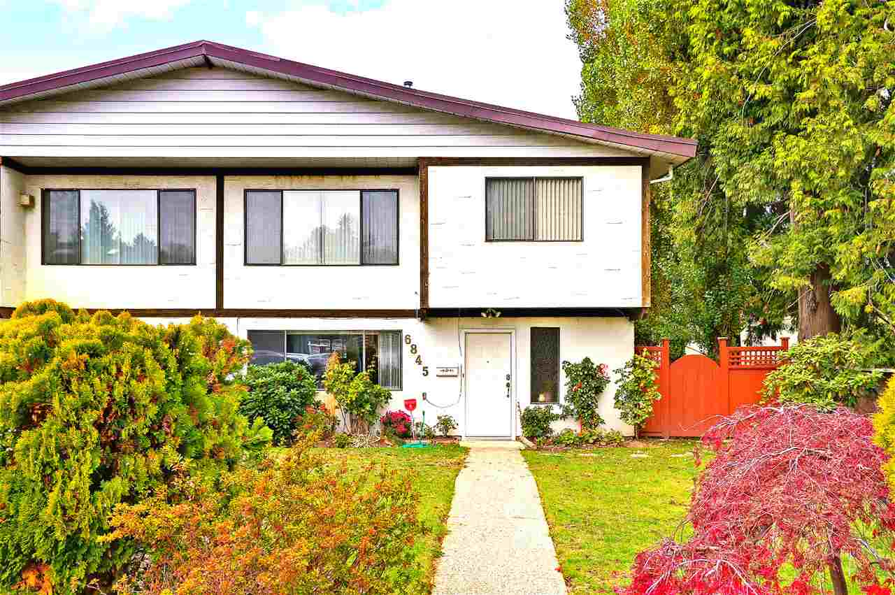 Main Photo: 6845 NOELANI Place in Burnaby: Highgate House 1/2 Duplex for sale (Burnaby South)  : MLS® # R2238071