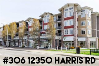 "Main Photo: 306 12350 HARRIS Road in Pitt Meadows: Mid Meadows Condo for sale in ""Keystone"" : MLS®# R2259882"