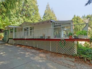 Main Photo: 33 5838 Blythwood Road in SOOKE: Sk Saseenos Manu Double-Wide for sale (Sooke)  : MLS®# 399317