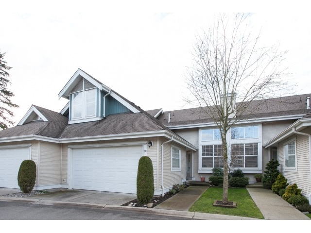 Main Photo: 20 16995 64 AVENUE in : Cloverdale BC Townhouse for sale : MLS(r) # R2035324