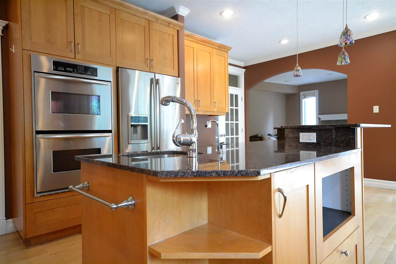 Stainless steel appliances. 6 burner gas cook top. 2 built-in convection ovens.