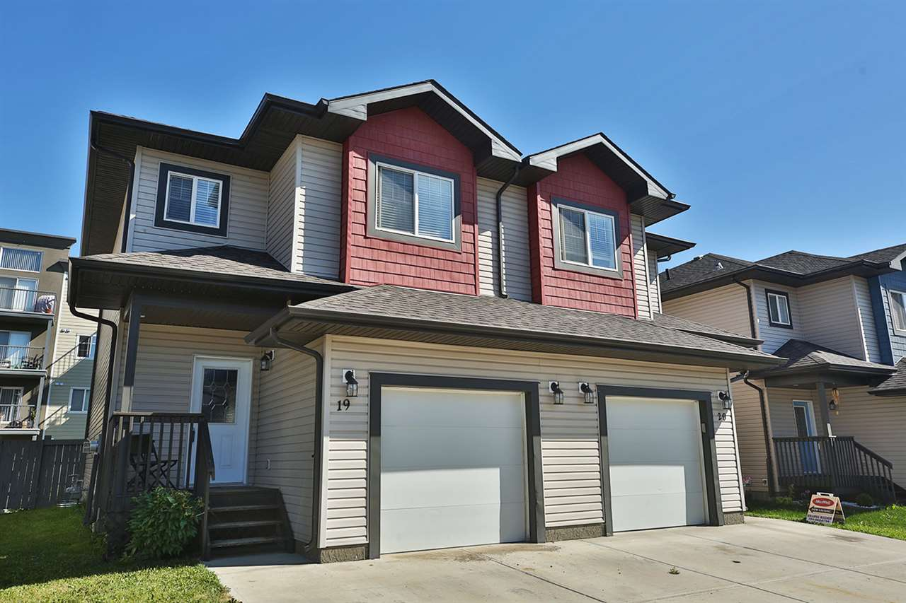 Main Photo: 19 16004 54 Street in Edmonton: Zone 03 House Half Duplex for sale : MLS® # E4075474