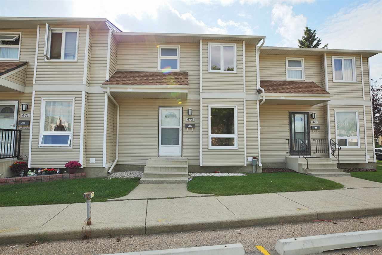 Main Photo: 473 DUNLUCE Road in Edmonton: Zone 27 Townhouse for sale : MLS® # E4078887