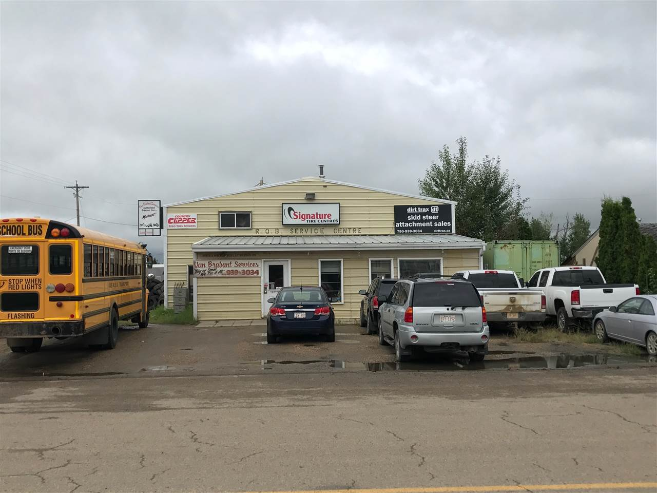 Main Photo: 200 26500 Hwy 44: Rural Sturgeon County Industrial for sale : MLS® # E4097544