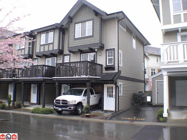 "Main Photo: 34 20176 68TH Avenue in Langley: Willoughby Heights Townhouse for sale in ""STEEPLECHASE"" : MLS® # F1108181"