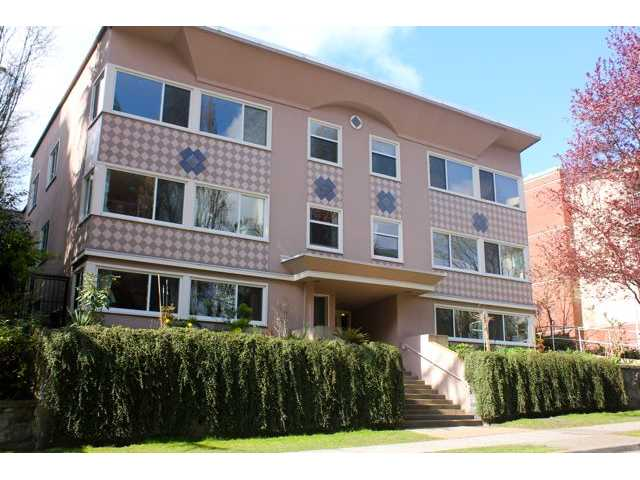 Main Photo: 5 1878 ROBSON Street in Vancouver: West End VW Condo for sale (Vancouver West)  : MLS® # V886754