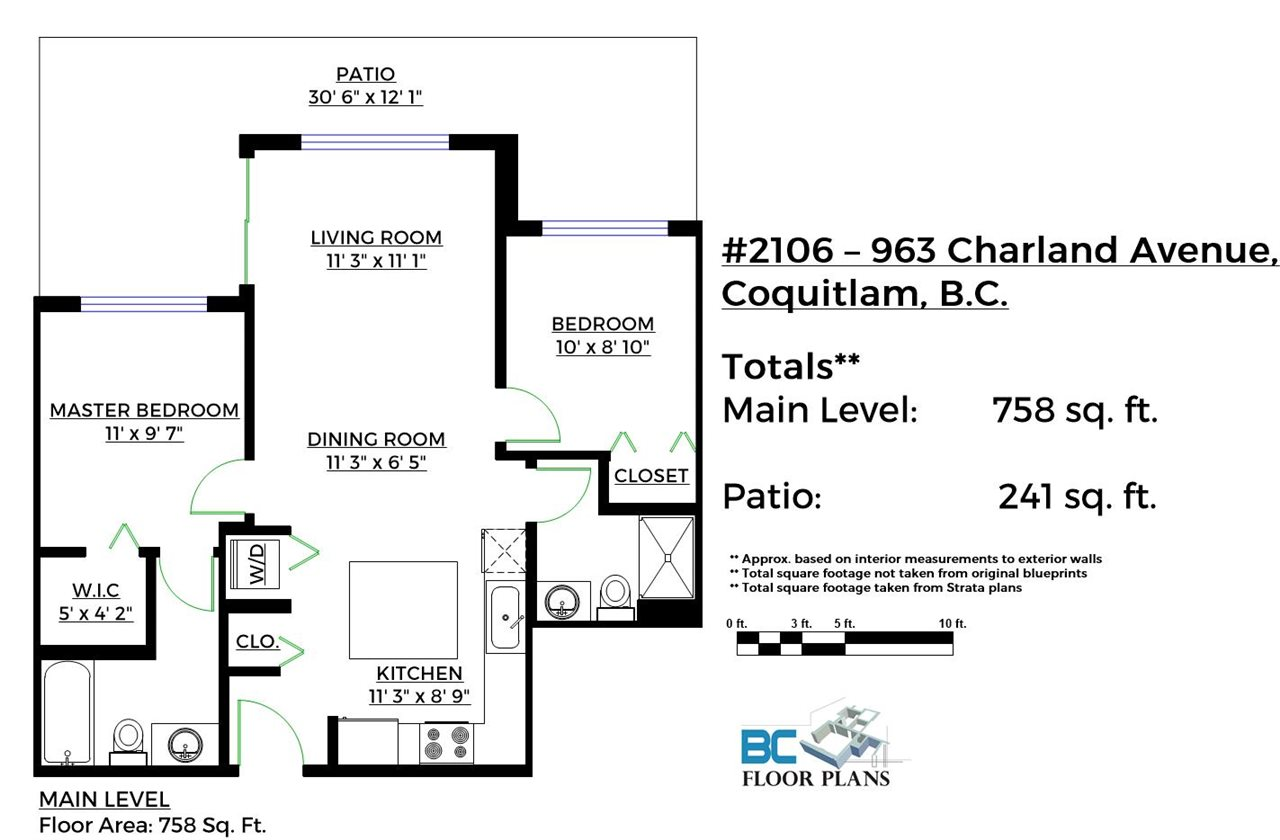 "Photo 18: 2106 963 CHARLAND Avenue in Coquitlam: Central Coquitlam Condo for sale in ""CHARLAND"" : MLS® # R2096822"