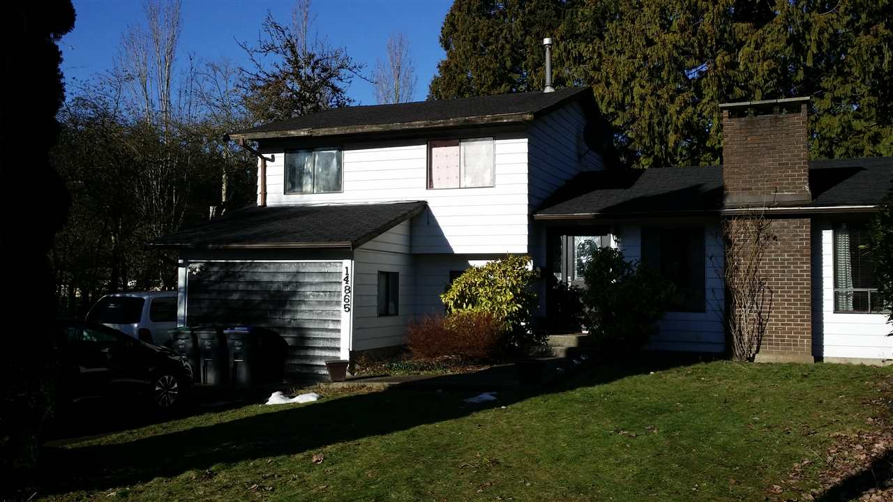 Main Photo: 14865 92 Avenue in Surrey: Fleetwood Tynehead House for sale : MLS® # R2133466