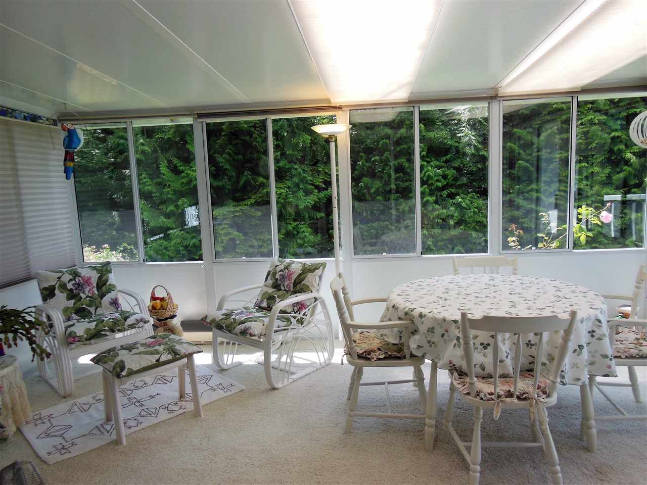 Sunroom off Family Room
