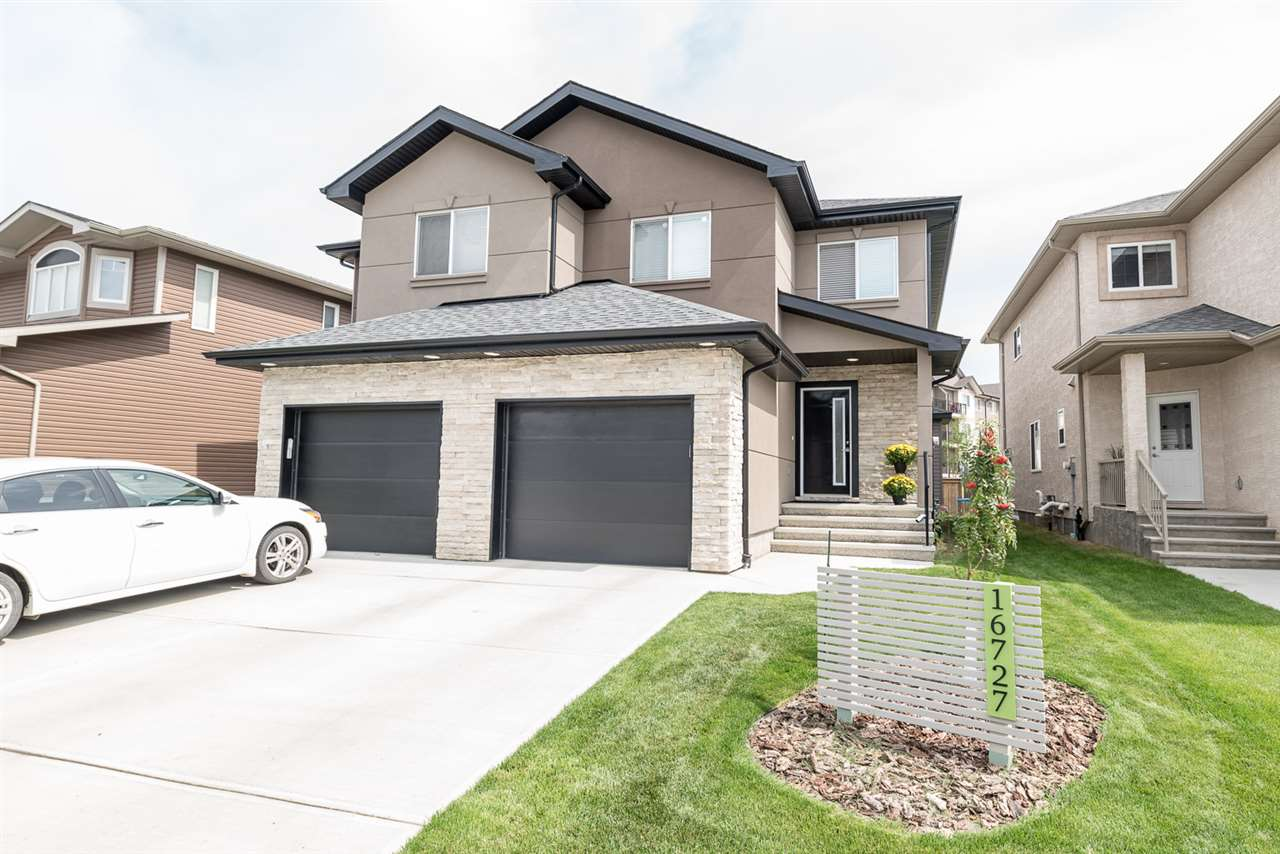 Main Photo: 16727 60 Street NW in Edmonton: Zone 03 House Half Duplex for sale : MLS® # E4077467