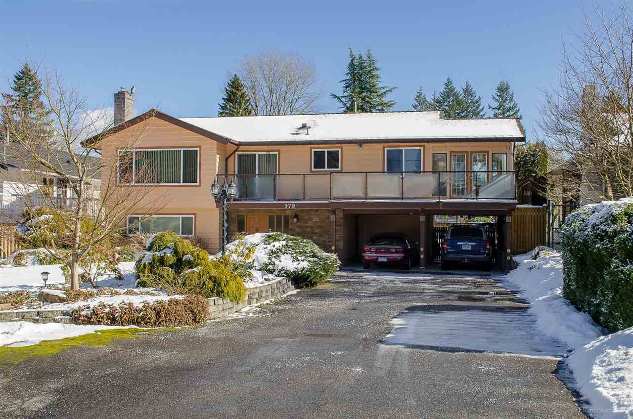 Main Photo: 979 JARVIS Street in Coquitlam: Harbour Chines House for sale : MLS® # R2241335