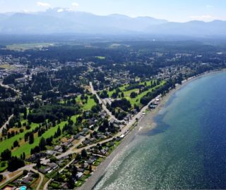 Main Photo: LOT 4 NE Harness Road: Home for sale (Qualicum Beach)