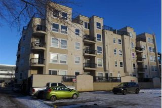 Main Photo: 408 10707 102 Avenue NW in Edmonton: Zone 12 Condo for sale : MLS® # E4100188