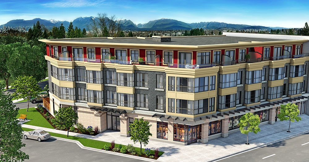 "Main Photo: PH7 3688 Inverness Street in Vancouver: Condo for sale in ""Charm"""