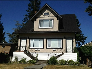 Main Photo: 1317 8TH Avenue in New Westminster: West End NW House for sale : MLS®# V1040021