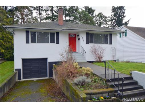 Main Photo: 2849 Adelaide Avenue in VICTORIA: SW Gorge Single Family Detached for sale (Saanich West)  : MLS®# 346339