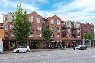 "Main Photo: 208 3638 W BROADWAY in Vancouver: Kitsilano Condo for sale in ""CORAL COURT"" (Vancouver West)  : MLS®# V1127113"