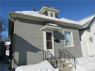 Main Photo: 179 Des Meurons Street in Winnipeg: St Boniface Residential for sale (South East Winnipeg)  : MLS®# 1603641