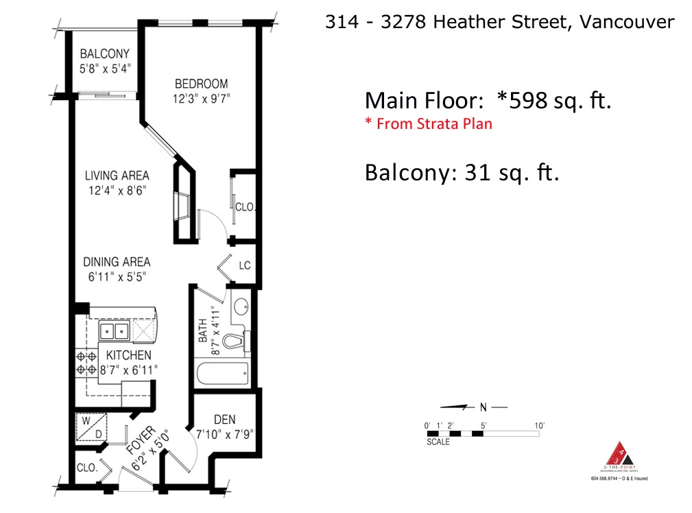 "Photo 11: 314 3278 HEATHER Street in Vancouver: Cambie Condo for sale in ""Heatherstone"" (Vancouver West)  : MLS(r) # R2069955"
