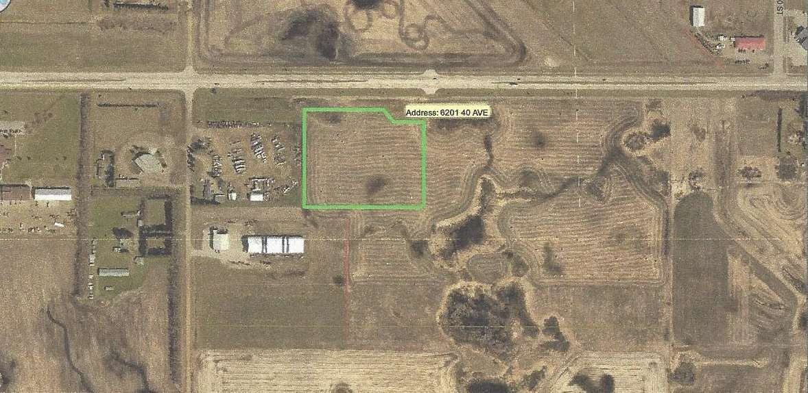 Main Photo: 6201 40 Avenue: Wetaskiwin Land Commercial for sale : MLS® # E4040996