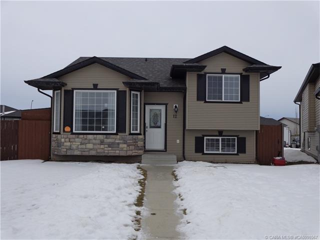 Main Photo: 12 Hansen Close in Sylvan Lake: SL Hewlett Park Residential for sale : MLS®# CA0098567