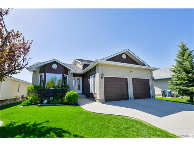 Main Photo: 279 Columbia Drive in Winnipeg: Whyte Ridge Residential for sale (1P)  : MLS® # 1712727