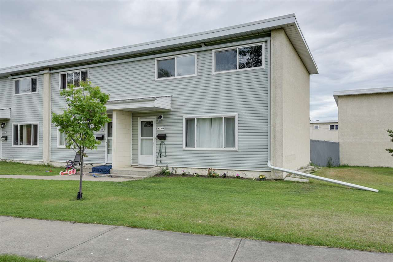 Main Photo: 13303 89A Street in Edmonton: Zone 02 Townhouse for sale : MLS® # E4074328
