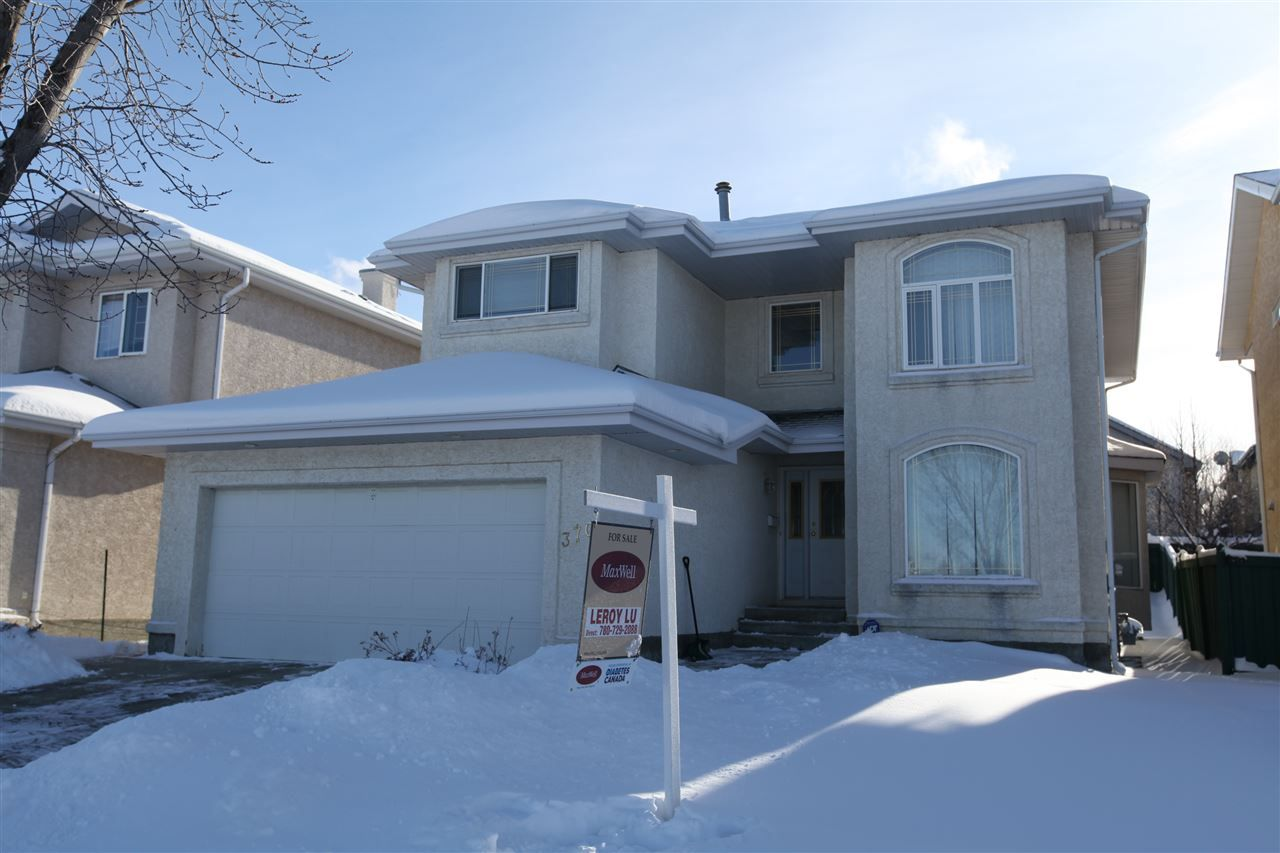Main Photo: 370 Heath Road NW in Edmonton: Zone 14 House for sale : MLS® # E4095680