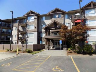 "Main Photo: 204 2581 LANGDON Street in Abbotsford: Abbotsford West Condo for sale in ""COBBLESTONE"" : MLS®# R2295652"