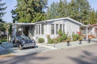 "Main Photo: 214 20071 24 Avenue in Langley: Brookswood Langley Manufactured Home for sale in ""Fernridge Park"" : MLS®# R2303152"