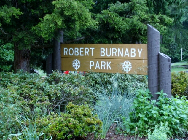 Robert Burnaby Park is steps away