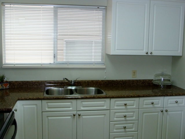Main floor-kitchen with window above sink