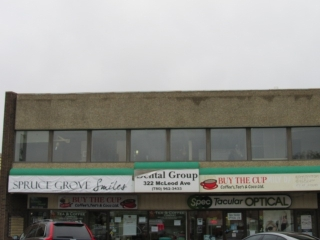 Main Photo: 322 C MCLEOD Avenue: Spruce Grove Office for lease : MLS® # E4041862