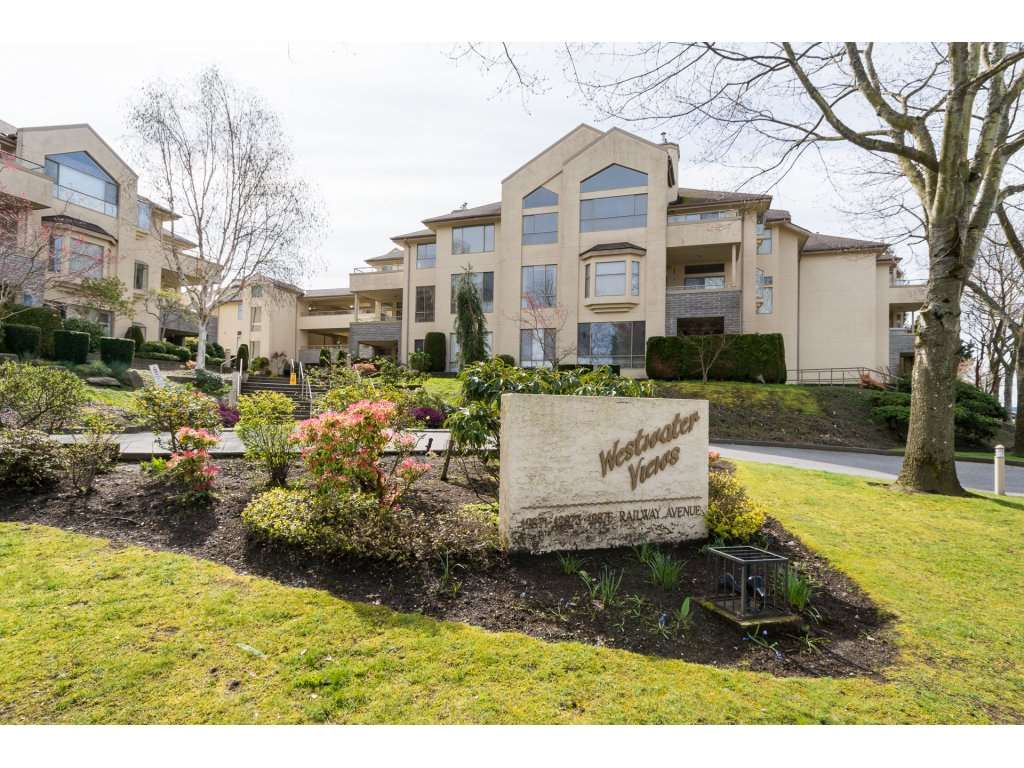 "Main Photo: 236 12875 RAILWAY Avenue in Richmond: Steveston South Condo for sale in ""WESTWATER VIEWS"" : MLS® # R2155770"